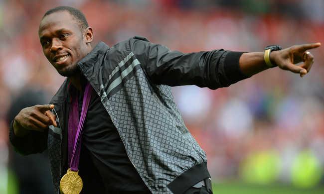 Usain Bolt a Manchester Unitedbe igazolna