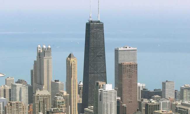 Százemeletes felhőkarcolóban volt tűz Amerikában