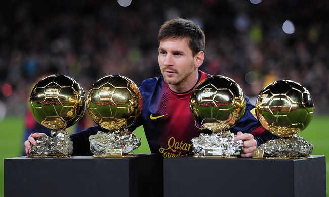 Messi nyeri az Aranylabdát az európai újságírók szerint