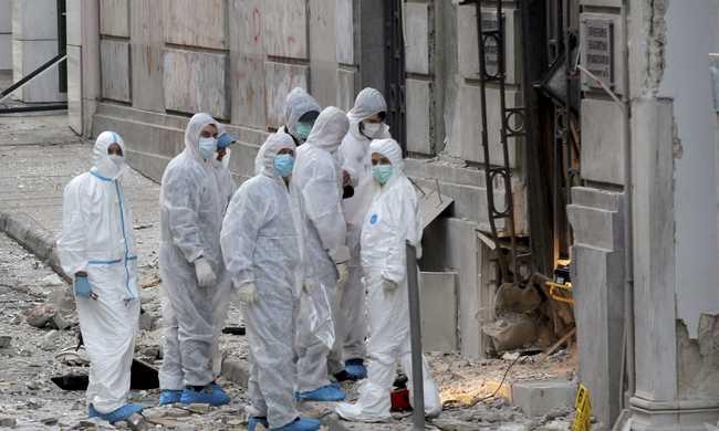 Bomba robbant Athénban