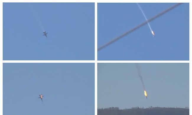 NATO: jogosan lőtték le az orosz gépet