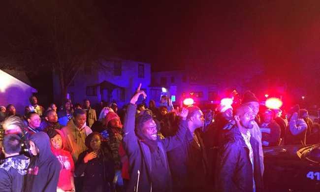 Öt embert lőttek meg a jogvédők tüntetésén