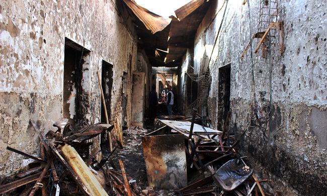 Fél órán át bombázták a kórházat tévedésből