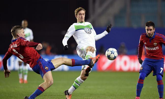 Óriási kapushiba is kellett a Wolfsburg győzelméhez - videók