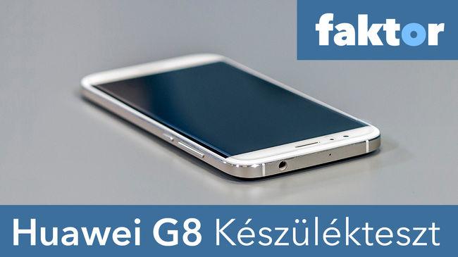 Kisminkel a telefon, csak markoljuk erősen - Huawei G8 teszt videóval