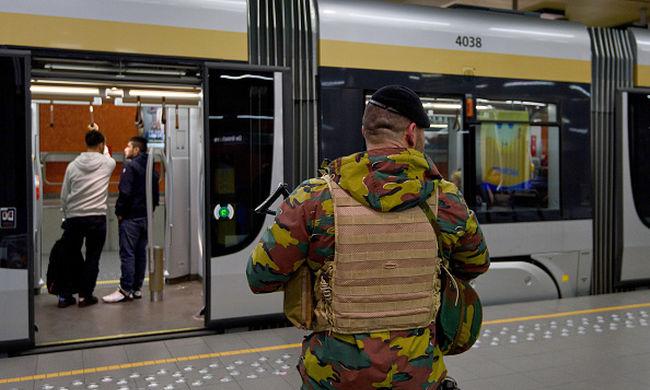 Belga hírügynökség: csökkentették a terrorfenyegetettség szintjét Brüsszelben