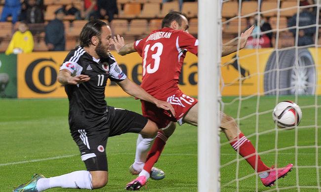 Kizárhatják az albánokat a foci EB-ről