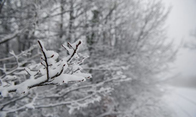 Komoly hideg és hó is lesz az újév első napján
