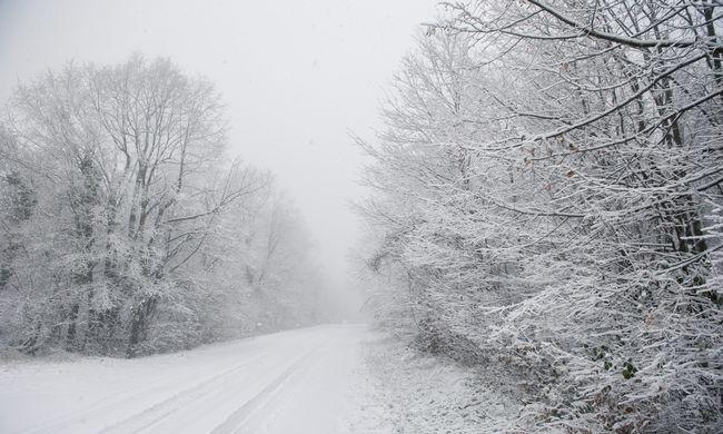 Úgy lehűlt az idő, hogy Ausztriában 40 centi hó esett