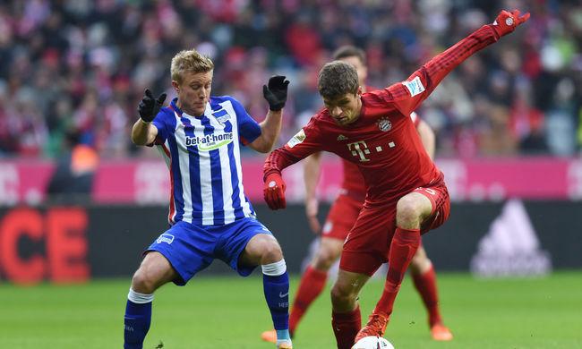 Dárdai Herthája sem tudta megállítani a Bayernt