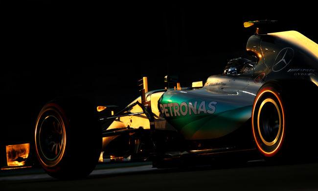 Nico Rosberg nyerte a szezon utolsó időmérő edzését