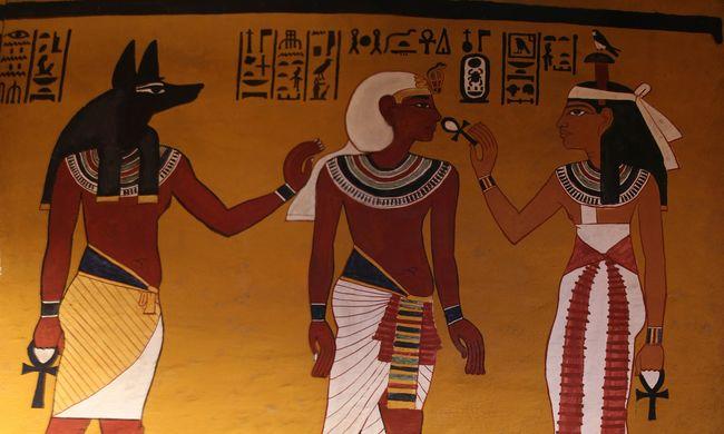 Titkokat rejt Tutanhamon fáraó sírja