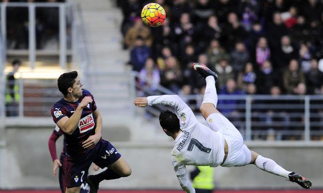 Cristiano Ronaldo beállította Hugo Sánchez rekordját - videó a gólról