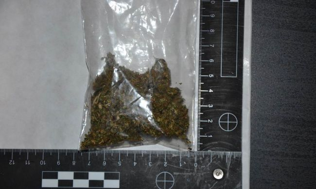 Igazoltatáskor találtak drogot a rendőrök