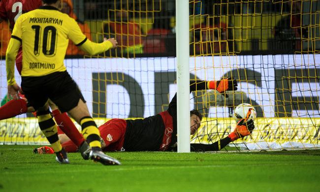 Fantasztikus gólt lőtt a Dortmund a Stuttgartnak - videó
