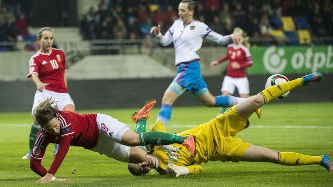 Kikapott Oroszországtól a magyar női fociválogatott