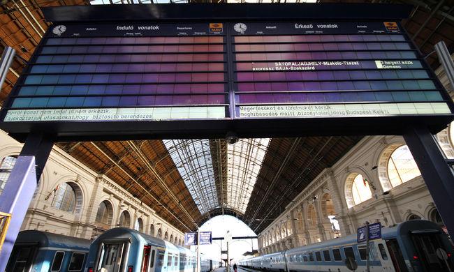 Újraindul a forgalom a Keleti pályaudvaron, de lesznek késések