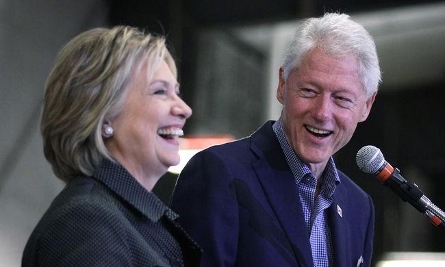 HIV-tesztre küldhette Bill Clintont a felesége