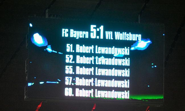 Négy Guinness-rekordot is felállított a Bayern München csatára
