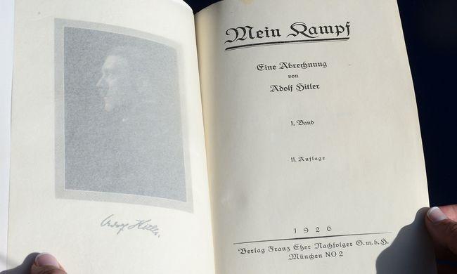 Újra kiadják a Mein Kampfot Németországban