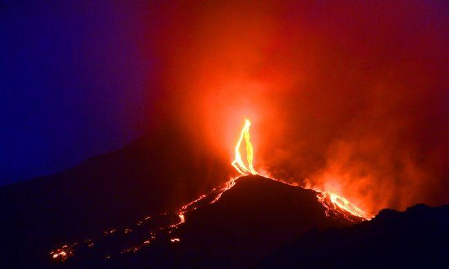 Újra kitört Európa legaktívabb vulkánja - videó