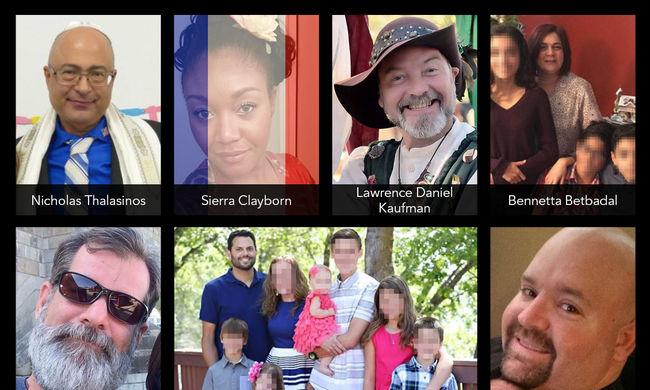 A kaliforniai mészárlás áldozatai: hatgyerekes apa és a párizsi áldozatokra emlékező nő is meghalt