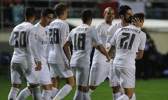 Kizárták a spanyol kupából a Real Madridot