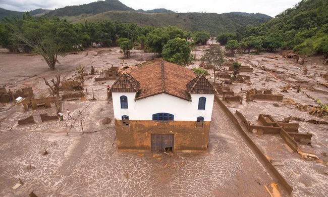 Drónnal készült fotók a klímaváltozás hatásairól