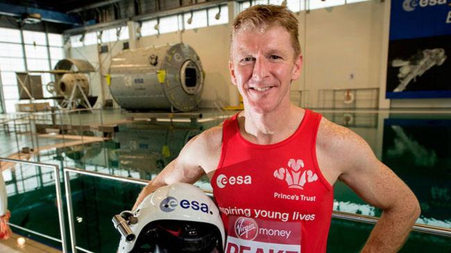 Maratont fut a világűrben