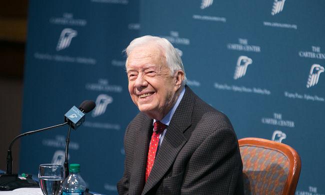 Kigyógyult a rákból Jimmy Carter
