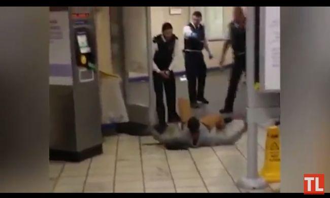 Így állították meg a londoni terroristát - videó