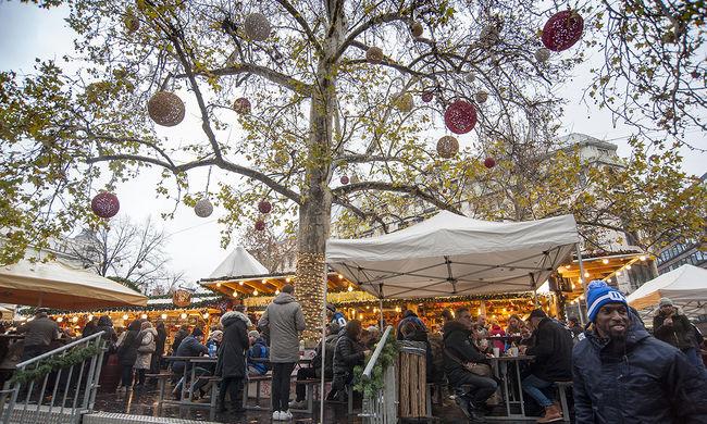 Elkezdhet készülni az ünnepre: megnyílt a budapesti karácsonyi vásár