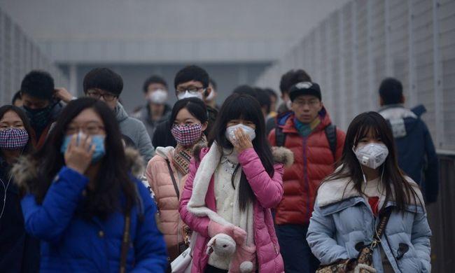 Még a kórházak sem biztonságosak Pekingben a szmogriadó alatt
