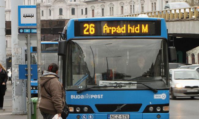 Hagyják megfagyni az utasokat a buszsofőrök