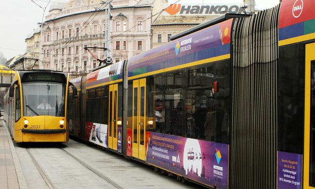 Több villamos menetrendje változik Budapesten, erre készüljön