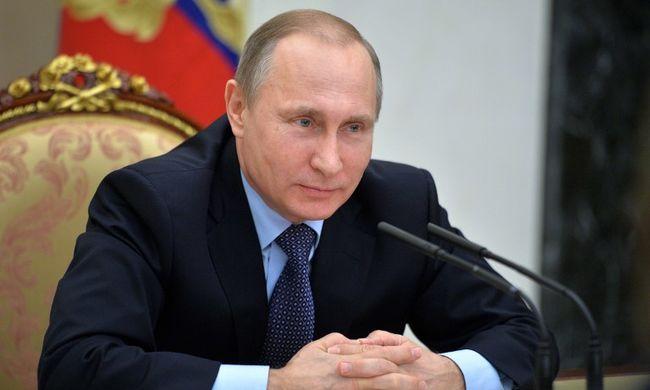 Már megvásárolható a Putyin-illat - parfümmel jelentkezett az elnök