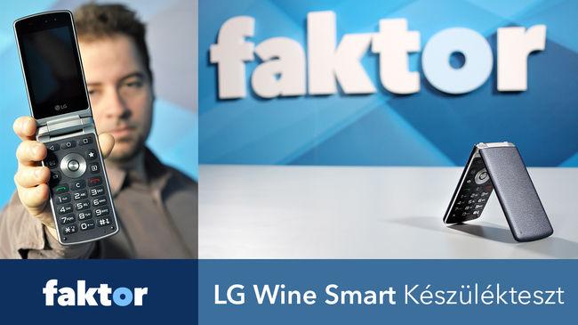 Ha nem zoknit akar venni a papának karácsonyra - LG Wine Smart videós készülékteszt