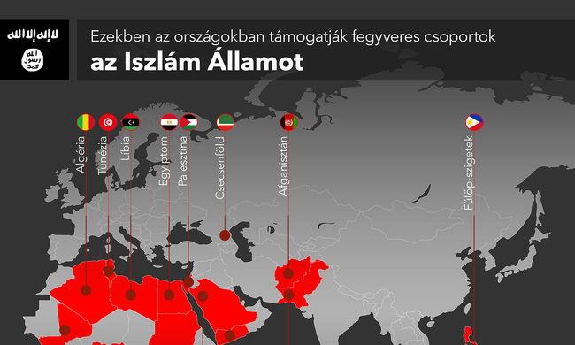 Már 15 országban támogatják az Iszlám Államot