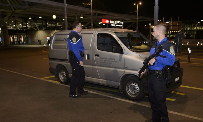 Újabb terroristákat fogtak Svájcban - közük lehet a párizsi merénylethez