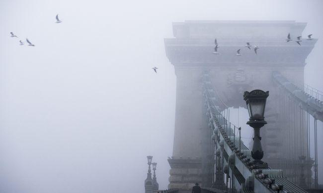 Köd és ónos szitálás is ránk tör