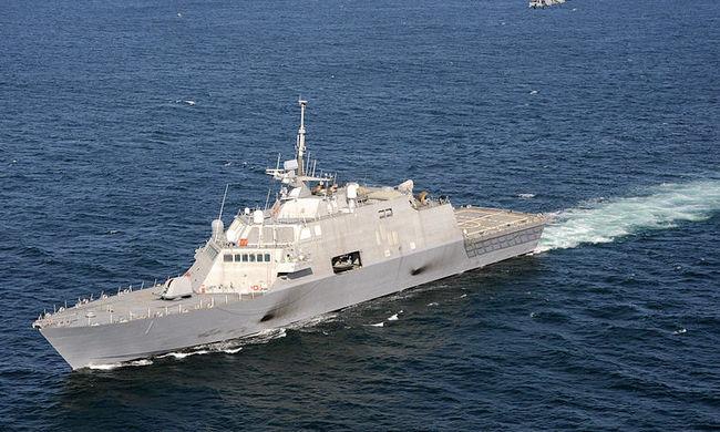 Olajszűrő miatt lerobbant a legújabb amerikai hadihajó