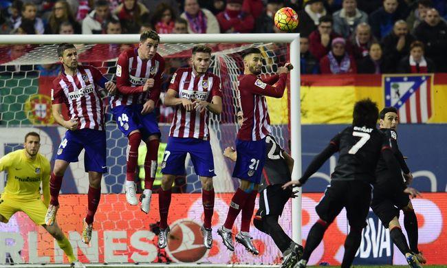 Utolérte a Barcelonát az Atlético Madrid a spanyol bajnokságban