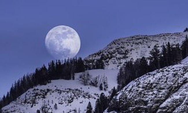 Gyönyörű lesz az ég karácsonykor: telihold fog világítani