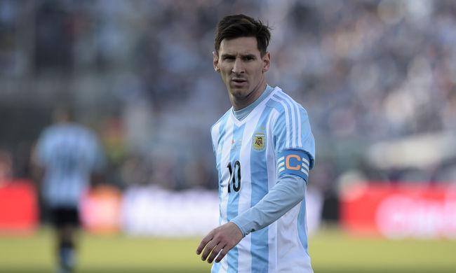 Messi nagyon kiborult az őt kritizáló emberekre