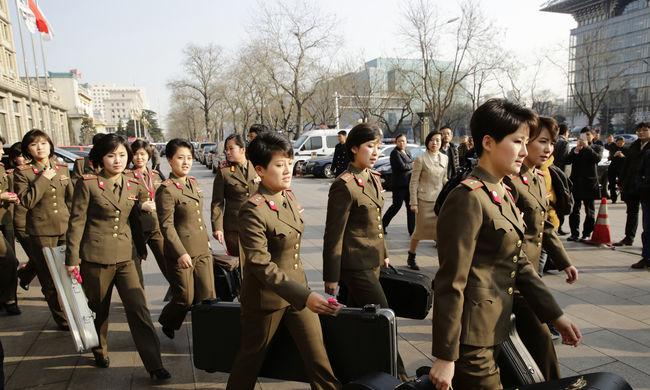 Visszarendelték Kim Dzsong Un lánybandáját Kínából