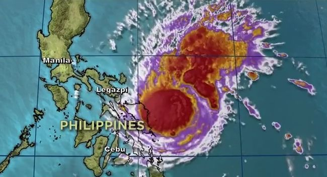 Tájfun a Fülöp-szigeteken: több mint 750 ezer embert telepítettek már ki