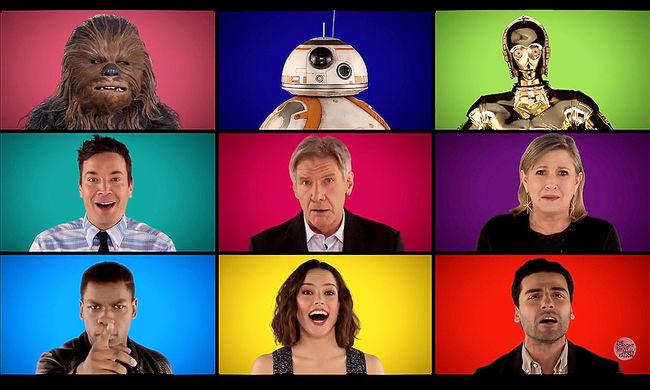 Éneklő Han Solo és karácsony Csubakkáéknál - Star Wars-videók a bemutatóra