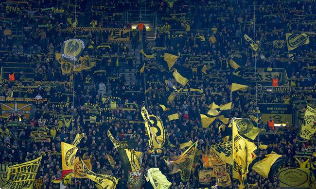 A Dortmund meccseire volt kíváncsi a legtöbb szurkoló a világon