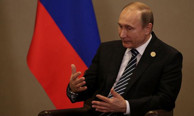 Putyin: Oroszország 30 terrorcselekményt akadályozott meg idén