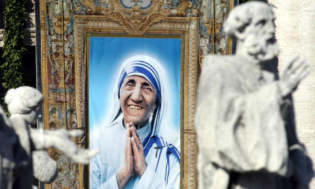 Szentté avathatják jövőre Teréz anyát